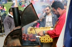 choripan at the festival