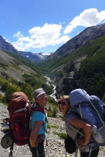 Marchelle, my South Africa trekking partner