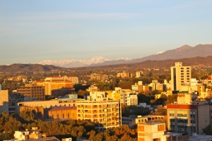 Sunrise over Mendoza